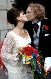 Aftonbladet nöje: Lisa Nilsson gifte sig