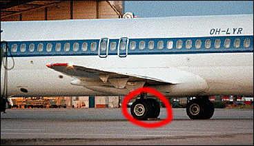 Flygplan fick atervanda till arlanda