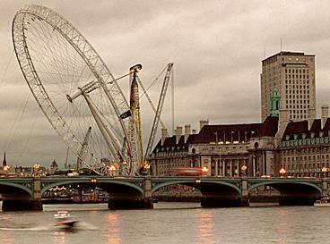 pariserhjulet i london