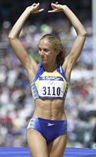 Hojdhopperska vann 400 meter